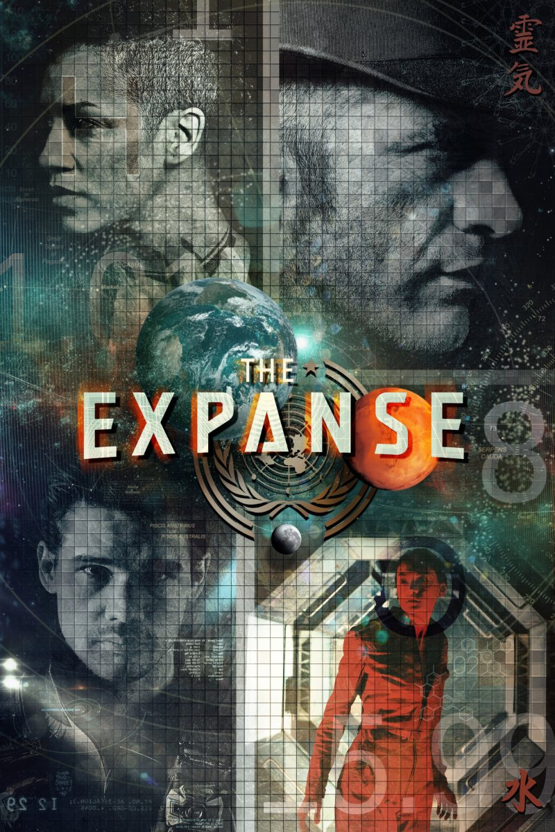 Erdvė (2 Sezonas) / The Expanse (Season 2) (2017)